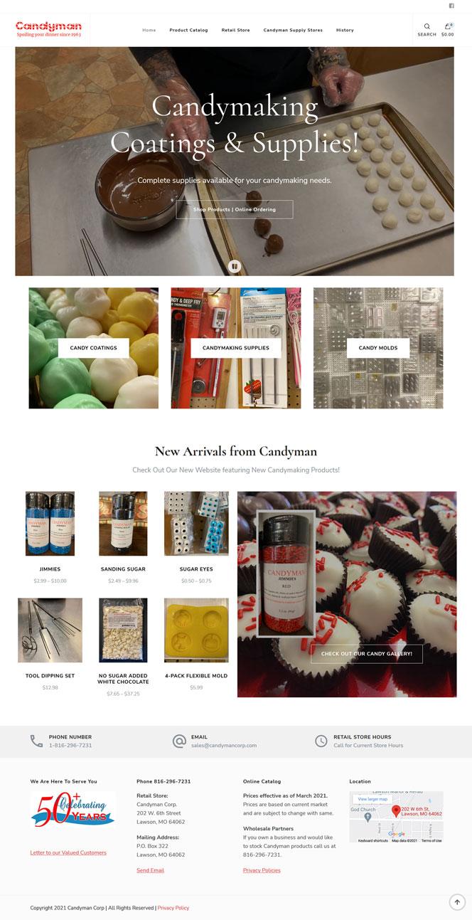 Morgansites Portfolio Candyman Corp feature