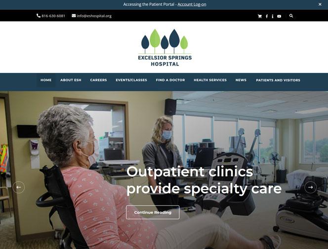 Morgansites portfolio Excelsior Springs Hospital
