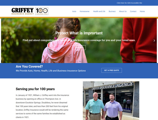 Morgansites Portfolio Griffey Insurance