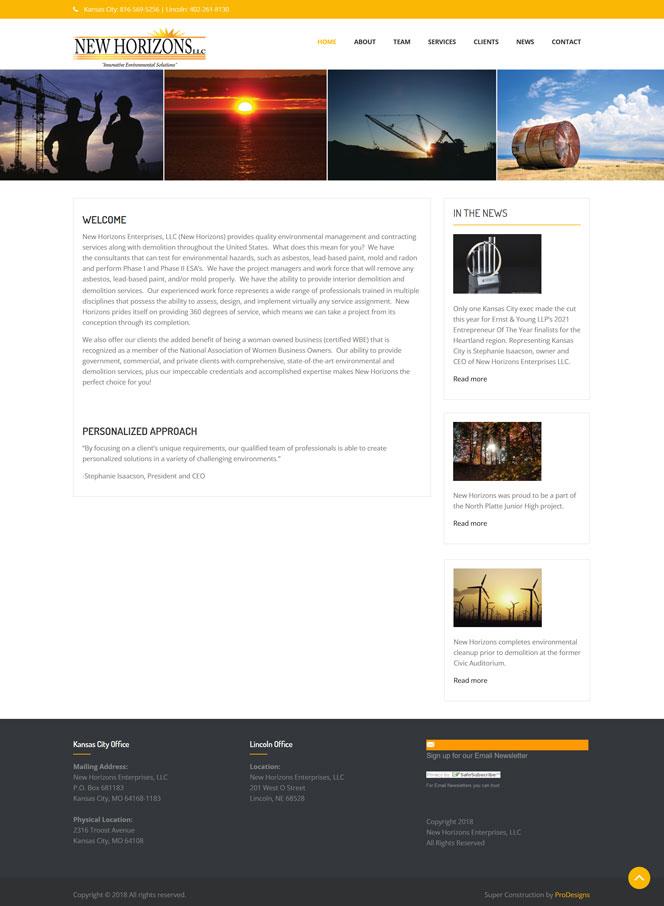 Morgansites Portfolio New Horizons Enterprises